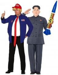 Par kostume koreansk diktator og amerikansk præsident