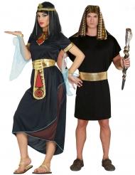 Par kostume Kleopatra og Farao - voksen