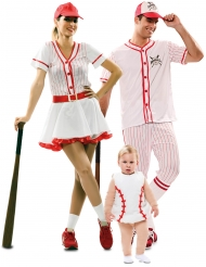 Familie kostume basebal