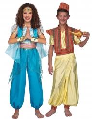 Par kostume orientalsk prins og prinsesse - barn