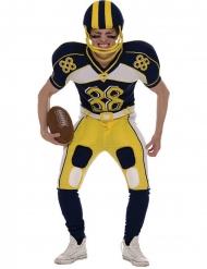 Amerikansk fodboldspiller kostume gul - mand
