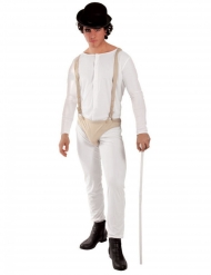 Skør forbryder kostume - mand