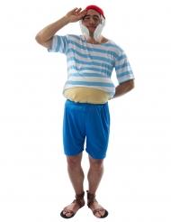 Striber kaptajn kostume - mand