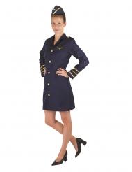 Stewardesse kostume - kvinde