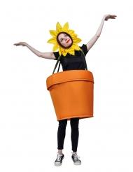 blomsterpotte kostume - voksen