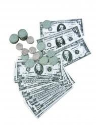 Dollar sedler og mønter