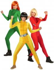 Spion trio kostume - kvinde