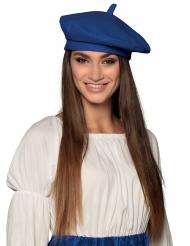 Fransk beret blå - voksen