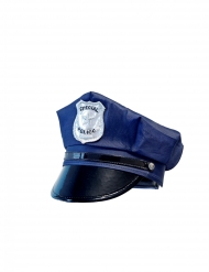 Justerbar politi-kasket - barn