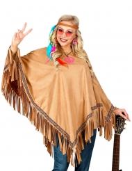 Luksus indianer poncho