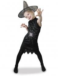 heks med hat kostume - pige