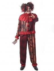 Den gruopvækkende klovn kostume - mand