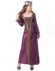 Middelalder prinsesse kostume - kvinde