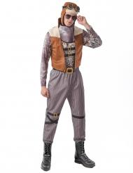 Steampunk aviator kostume- mand