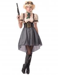 Steampunk kostume - kvinde