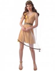 Romersk kostume guld - kvinde