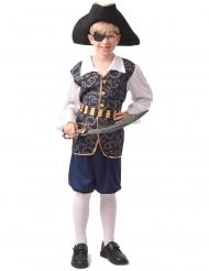 Elegant pirat kostume - dreng
