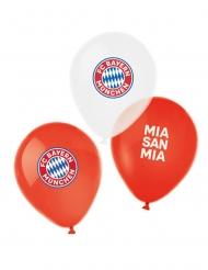 6 Latex balloner FC Bayern Munich™ 27 cm