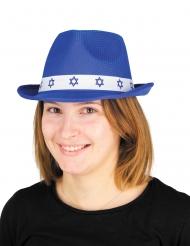 Bar Mitzvah hat blå - voksen