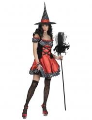 Polka heks kostume - kvinde