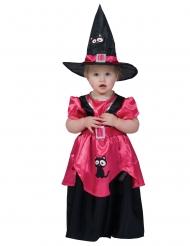 Lyserødt heksekostume - baby