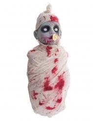 Baby zombie med lyd og lys 50 cm