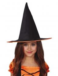 heksehat med orange stribe - barn