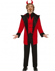 Fashion djævel kostume - mand