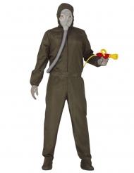 Skadedyrsbekæmper kostume - voksen
