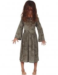 Grå spøgelse kostume - pige