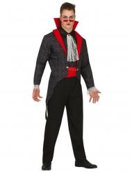 Gotisk vampur kostume - mand