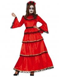 Mexicansk Dia de los muertos kostume - kvinde