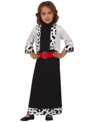 Miss Dalmatiner kostume - pige