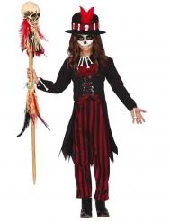 Mystisk voodoo doktor kostume - pige