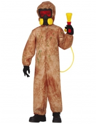 Radioaktiv zombie kostume - dreng