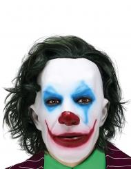 Mr. Smile maske med hår - voksen