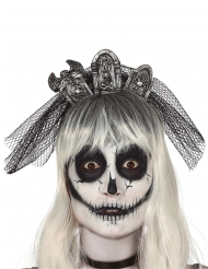 Hårbøjle gravsten - kvinde