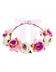 Blomsterkrone med roser 17 cm