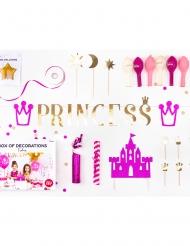 Dekorationssæt fødselsdag prinsesse 31 dele