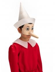 Latex maske Pinocchio™ voksen