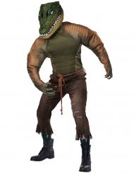 krokodille mand kostume - voksen