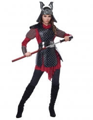 Samurai kriger kostume - kvinde
