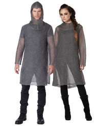 Ringbrynje ridder kostume - voksen
