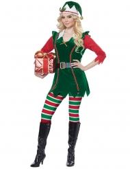 Julealf kostume - kvinde