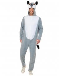 Grå lemur kostume - voksen