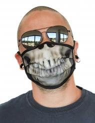 Ansigtsmaske skelet - voksen