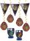 Dekorations kit Harry Potter™ 7 stk