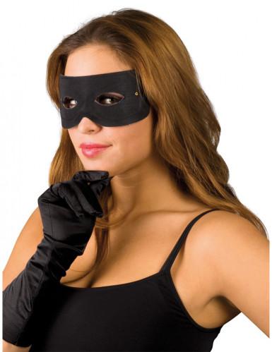 Sort røvermaske