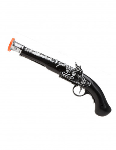 Piratpistol i plastik til børn