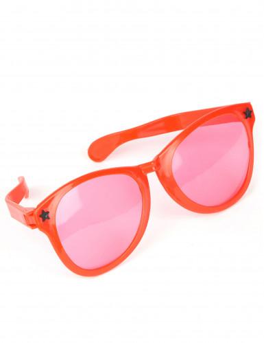 Kæmpe brille i rød